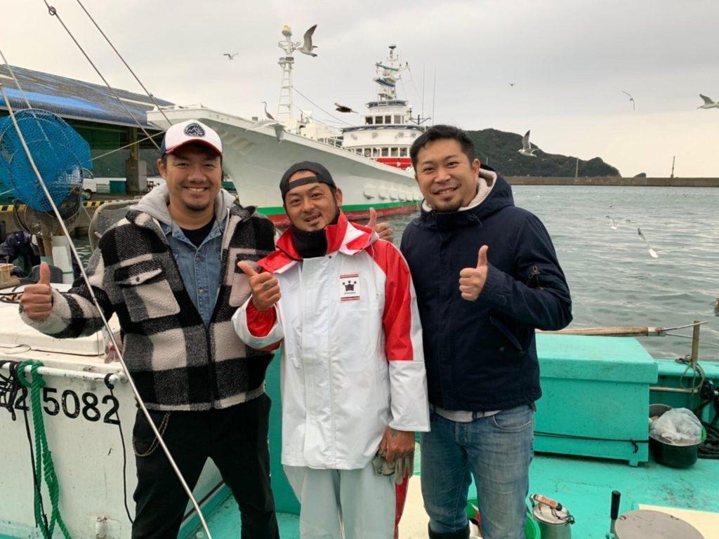 長井漁港の皆様と